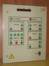 Система автоматического управления конвективными сушильными камерами древесины КСК. Шкаф управления